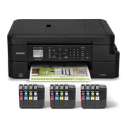 Brother MFC-J775DW XL Color Inkjet All-in-One Printer. Up to 2 Years of Ink with 12 INKvestment Cartridges Included