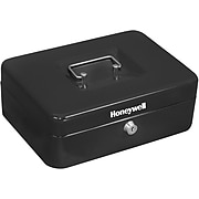 Honeywell Cash Management Box, 4 Compartments, Black (6202)