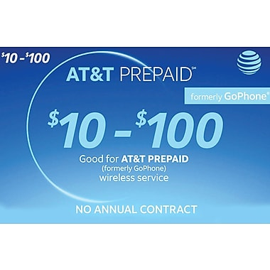 AT&T Prepaid Airtime $50 (Email Delivery)