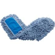 "Rubbermaid Twisted Loop Dust Mop Head, Blue, 48"" x 5"""