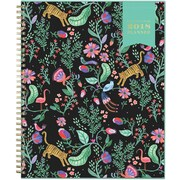 "2018 Day Designer for Blue Sky 8.5"" x 11"" CYO (Create Your Own) Cover Weekly/Monthly Planner, Jungle Tiger (103255)"