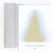 Great Papers­­® Frosted Tree Boxed Holiday Cards & Envelopes. 16/Pack