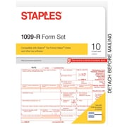Staples 2017 Tax Forms, 1099-R, 10-Pack