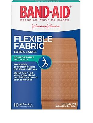 Band-Aid® Brand Flexible Fabric Extra Large Adhesive Bandages 1-1/4