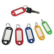 Honeywell Colored KeyTags, Assorted Colors, 20/Pack (6220)