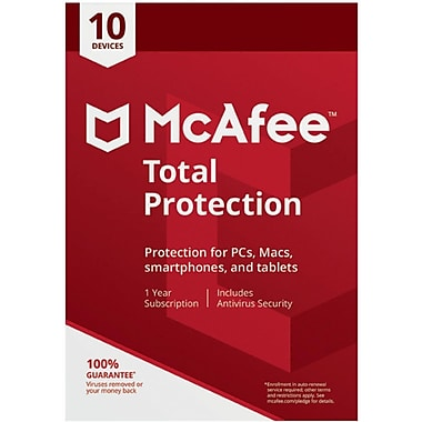 McAfee Total Protection 10 Device for Windows (1-5 Users) [Download]