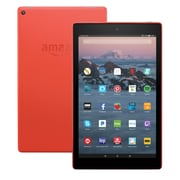 "Fire HD 10 Tablet with Alexa Hands-Free, 10.1"" 1080p Full HD Display, 64 GB, Punch Red - with Special Offers"