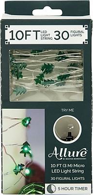 10ft 30 Xmas Tree String Lightswith Timer (12474)