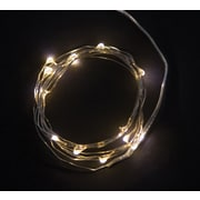 5ft 15 Soft White String Lights  with Timer (74445)
