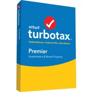 TurboTax Premier Federal + E-File + State 2017 (1 User) [Boxed]