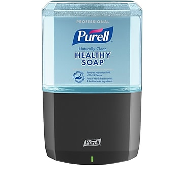 PURELL ES8 Touch-Free Soap Dispenser, Graphite, Touch-Free ES8 Wall Mount Dispensing (7734-01)