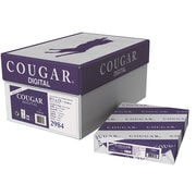 "Cougar® 100 lbs. Digital Smooth Cover, 8 1/2"" x 11"", White, 200/Ream"