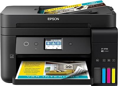 WorkForce® ET-4750 EcoTank® All-in-One Supertank Printer