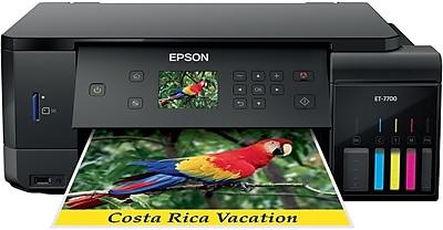 Epson® Expression® EcoTank® ET-7700 Color Inkjet Multifunction Supertank Printer (C11CG15201)