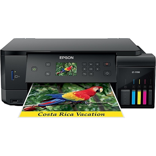 Epson Expression EcoTank ET-7700 All-in-One Supertank Color Inkjet Printer