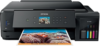 Epson® Expression® EcoTank® ET-7750 Color Inkjet All-in-One Printer