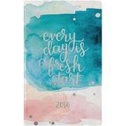 Erin Condren 2018 Hardbound Lifeplanner™- Watercolor Splash, 5x8, Horizontal Layout