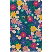 Erin Condren 2018 Hardbound LifePlanner™- Floating Florals, 5x8, Horizontal Layout