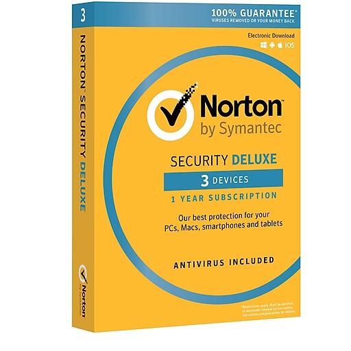 Norton Security Deluxe 3 Device For Windows Mac Andriod