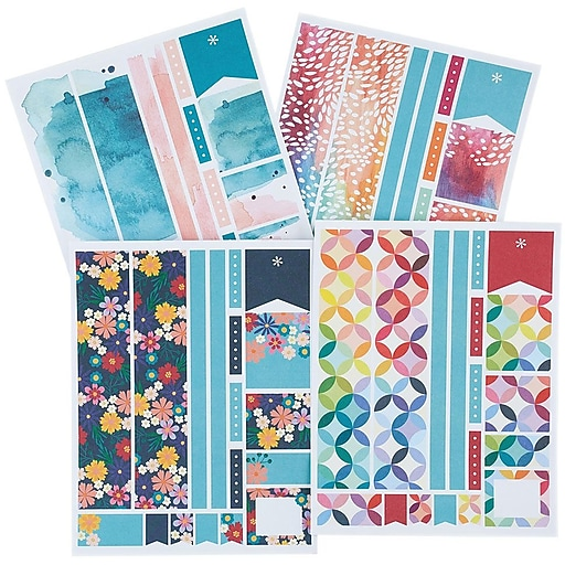 Erin Condren Sticker Sheets, Classic Collection (ACC STKR-CLS)