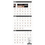 "2018 AT-A-GLANCE® 3 Month Reference Wall Calendar, December 2017-January 2019, 12""x27"", Contemporary, Wirebound (PM11X-28-18)"