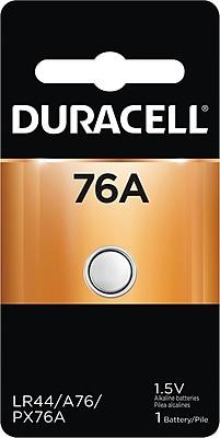 Duracell® PX76A Alkaline Battery, 1/Pack