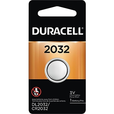 Duracell® 2032 Lithium Battery, 1/Pack