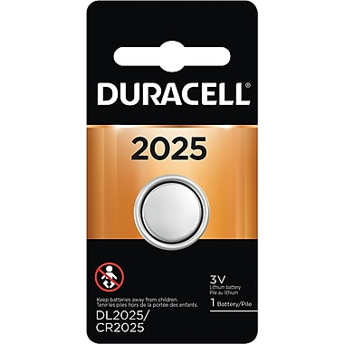 Duracell® 2025 Lithium Battery, 1/Pack