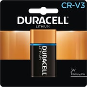 Duracell® CRV3 Lithium Battery, 1/Pack