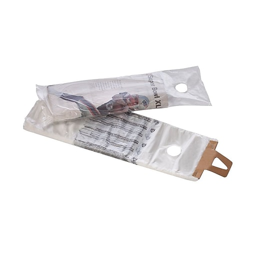 """6 x 12"""" Poly Bags with a hang hole, 1.5 mil, Clear, 1000/Carton (29422)"""