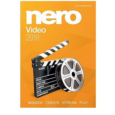 Nero Video 2018 for Windows (1 User) [Download]