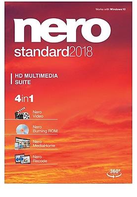Nero Standard 2018 for Windows (1 User) [Download] 2801422