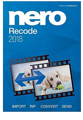 Nero Recode 2018 for Windows (1 User) [Download]