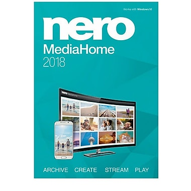 Nero MediaHome 2018 for Windows (1 User) [Download]