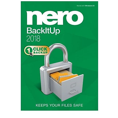Nero BackItUp 2018 for Windows (1 User) [Download]