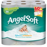 Angel Soft Toilet Paper, 2-Ply, White, 264 Sheets/Roll, 18 Double Rolls/Pack (775975)