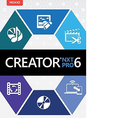 Roxio Creator NXT 6 Pro for Windows (1 User) [Download]