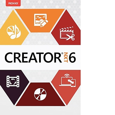 Roxio Creator NXT 6 for Windows (1 User) [Download]