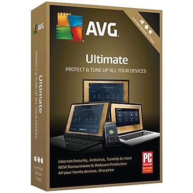 AVG Ultimate 2018, Unlimited 2 Years for Windows/Mac (1-1000 Users) [Download]