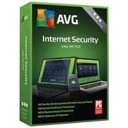 AVG Internet Security 2018, Unlimited 2 Years for Windows/Mac (1-1000 Users) [Download]