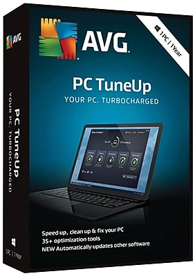 AVG PC TuneUp 2018, 1 PC 1 Year for Windows (1 User) [Download]
