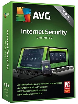 AVG Internet Security 2019, Unlimited 1 Year (MEY9R873ZUY2PGD)