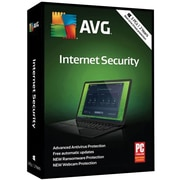 AVG Internet Security 2018, 3 PC 2 Year for Windows (1-3 Users) [Download]