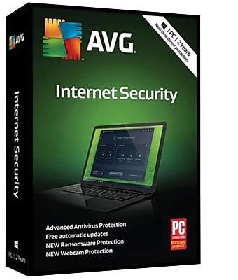 AVG Internet Security 2019, 1 PC 2 Year (6GDLH82D2JKL7DB)