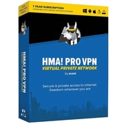 Avast HMA PRO VPN 2018, 1 Year for Windows (1 User) [Download]