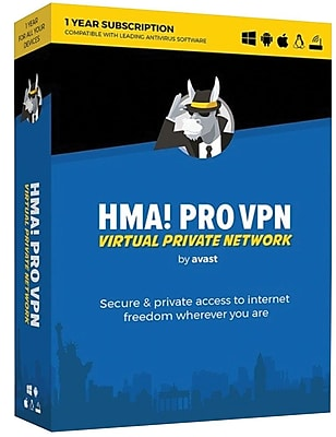 Avast HMA! Pro VPN, 1 Year (1-5 Devices) [Download]