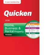 Quicken Home, Business & Rental Property 2018- 2 Year for Windows (1 User) [Download]