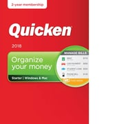Quicken Starter 2018- 2 Year for Windows/Mac (1 User) [Download]