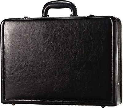 SAMSONITE EXPANDABLE LEATHER ATTACHE