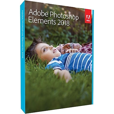 Adobe Photoshop Elements 2018 for Windows/Mac (1 User) [Boxed]